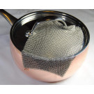 KnappMade Fine Chainmail Dishcloth™ (for Wine Decantors and Pots and Pans)