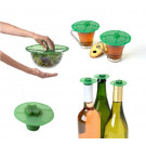 Charles Viancin Clover Silicone Lids