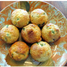 Jalepeno-scallion Corn Muffins With Cheddar Cheese