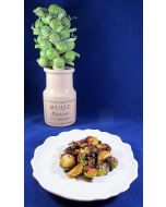 Brussels Sprouts Roasted With Garlic and Pancetta