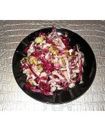 Endive and Radicchio With Blue Cheese and Cumin Walnuts