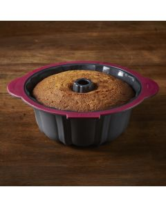 Trudeau Structured Silicone Fluted Cake Pan (or Bundt)