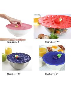 Charles Viancin Fruit Stand Silicone Lids