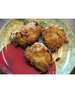 Parmesan Crumbed Baked Chicken Thighs