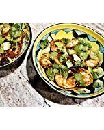 Garlic Shrimp and Black Beans and Lime (WW 8 Points)