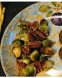 Phase 3 Vegetable: Brussels Sprouts Roasted With Pecans