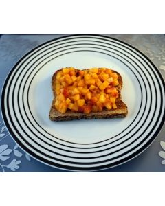 Phase 1 Breakfast: Cinnamon Ginger Peaches on Toast