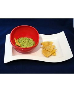 Homemade Tortilla Chips... in the MIcrowave!