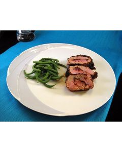 Grilled Pork Tenderloin Stuffed with Chipotle