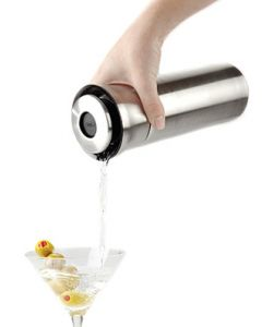 OXO Steel Press & Pour Shaker