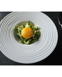 Zucchini Noodles with a Perfect Egg Yolk