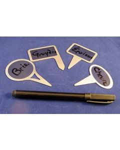 Trudeau Stainless Steel Cheese Markers